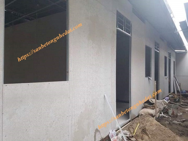 Tấm tường bê tông nhẹ
