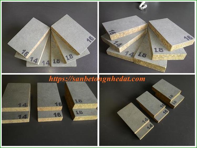 Tấm xi măng dăm gỗ Smileboard Thái Lan làm sàn nhẹ chịu lực