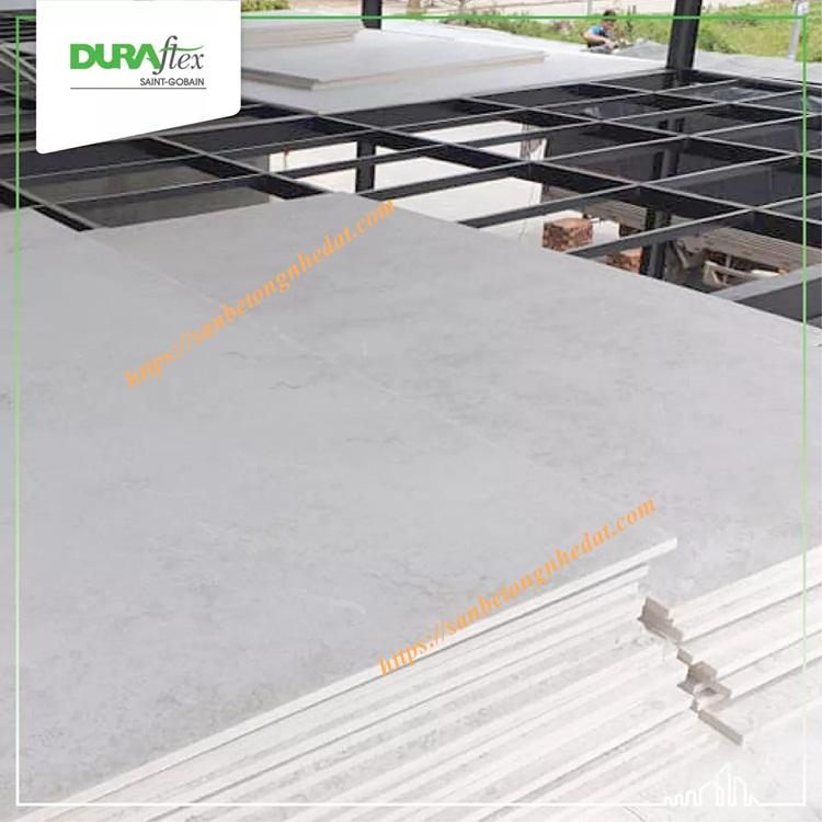 Tấm sàn bê tông nhẹ Duraflex