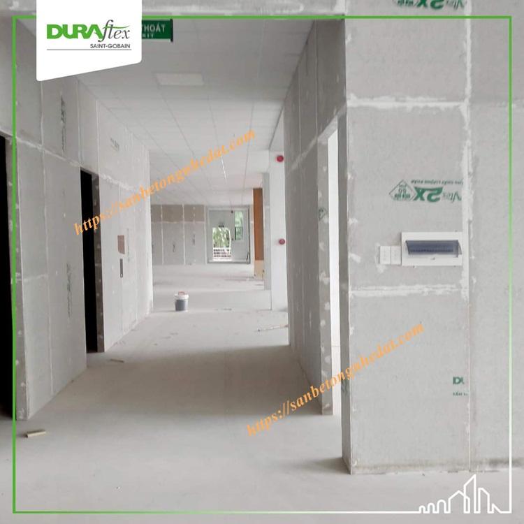 Tấm bê tông nhẹ Duraflex chịu nước tuyệt đối