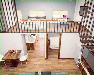 Giá thi công sàn gác xép, sàn gác lửng bằng tấm bê tông Duraflex