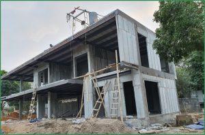 Tấm bê tông nhẹ xây nhà